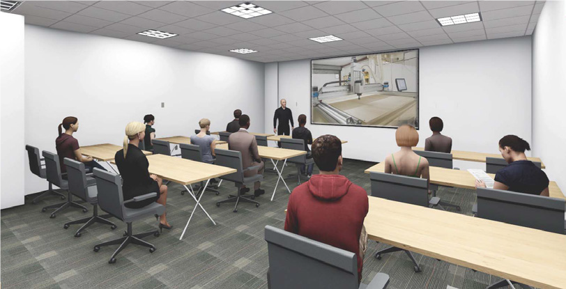 visualization room